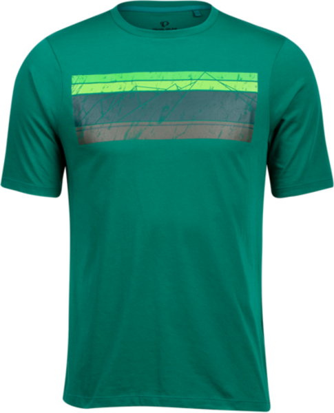 Pearl Izumi Men's Mesa T-Shirt Color: Alpine Green Sacred Mountain