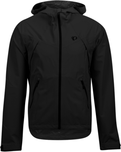 Pearl Izumi Men's Monsoon WxB Hooded Jacket Color: Black