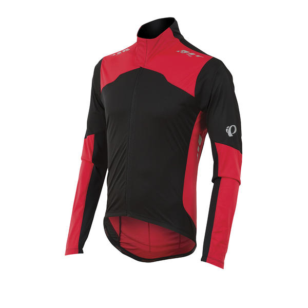 Pearl Izumi P.R.O. Aero LS Jersey Color: Black/True Red