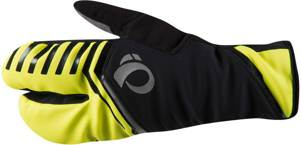Pearl Izumi P.R.O. AmFIB Lobster Glove Color: Screaming Yellow