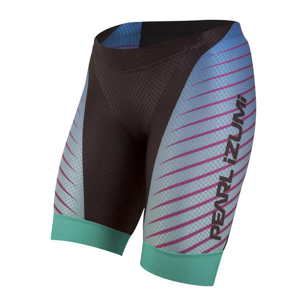 Pearl Izumi P.R.O. In-R-Cool Tri Short - Women's Color: Black/Aqua Fade