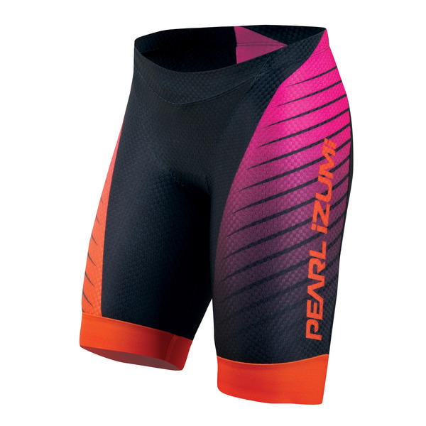 Pearl Izumi P.R.O. In-R-Cool Tri Shorts - Women's Color: Black/Hot Pink