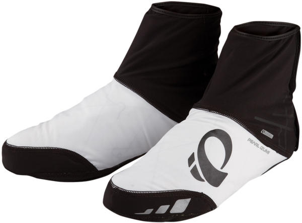 Pearl Izumi P.R.O. Softshell WxB Shoe Covers Color: Black/White