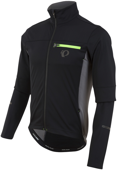 Pearl Izumi P.R.O. Escape Softshell Jacket Color: Black/Smoked Pearl