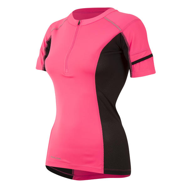 Pearl Izumi Pursuit Endurance Short Sleeve - Women's Color: Screaming Pink/Black