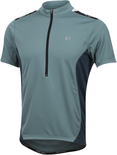 Pearl Izumi Men's SELECT Quest Jersey Color: Arctic/Midnight Navy