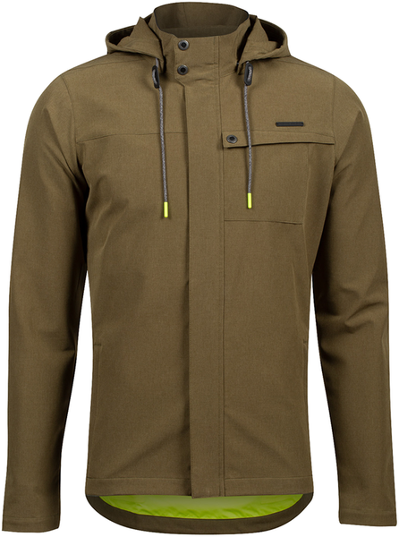 Pearl Izumi Rove Barrier Jacket Color: Dark Olive