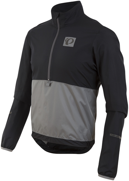Pearl Izumi Men's SELECT Barrier Pullover Color: Black/Smoked Pearl