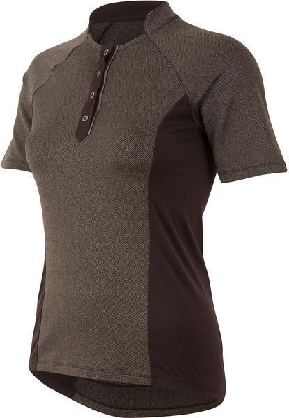 Pearl Izumi Women's SELECT Escape Texture Jersey Color: Black Herringbone