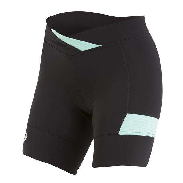 Pearl Izumi SELECT Escape Texture Short - Women's Color: Black/Aqua Mint