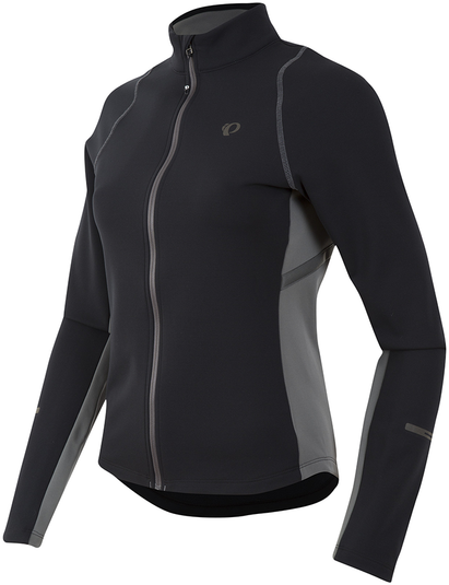 Pearl Izumi Women's SELECT Escape Thermal Jersey Color: Black/Smoked Pearl