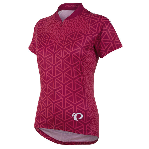 Pearl Izumi SELECT LTD Short Sleeve Jersey - Women's Color: Geo Rouge Red