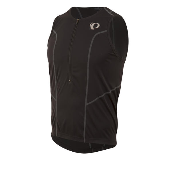 Pearl Izumi SELECT Pursuit Tri Sleeveless Jersey Color: Black