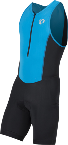 Pearl Izumi Men's SELECT Pursuit Tri Suit Color: Atomic Blue/Black