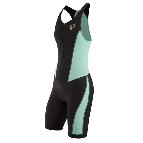 Pearl Izumi SELECT Pursuit Tri Suit - Women's Color: Black/Aqua Mint