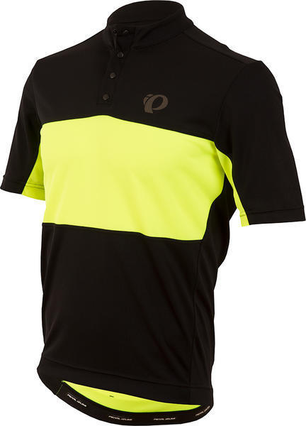 Pearl Izumi Men's SELECT Tour Jersey Color: Black / Screaming Yellow