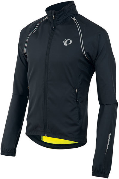 Pearl Izumi Elite Barrier Convertible Jacket Color: Black