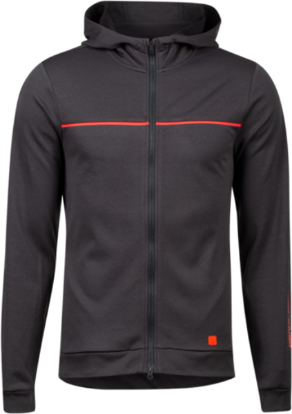 Pearl Izumi Trail Hoody Color: Phantom/Screaming Red