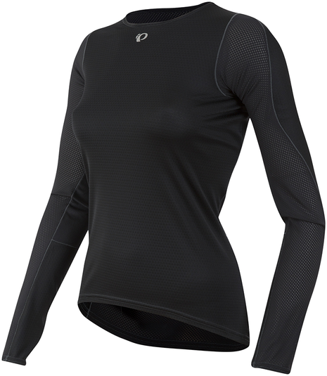 Pearl Izumi Women's Transfer Long Sleeve Baselayer Color: Black