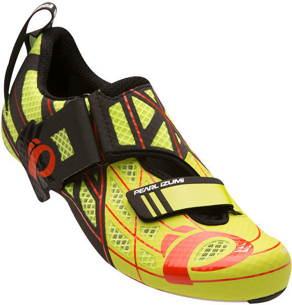 Pearl Izumi Men's Tri Fly P.R.O. v3 Color: Lime Punch / Black