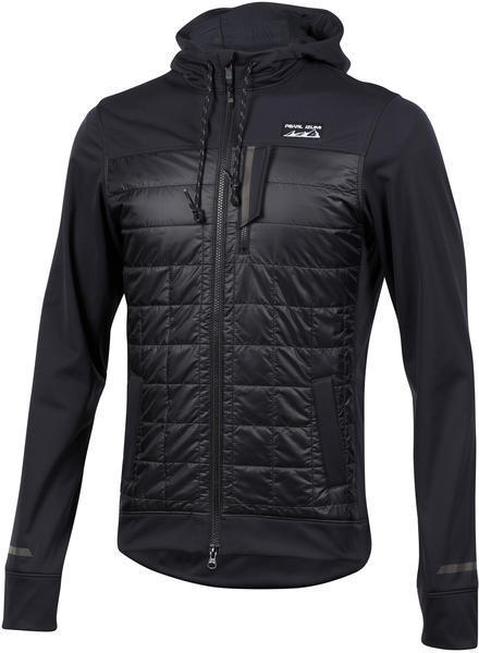 Pearl Izumi Men's Versa Quilted Hoodie Color: Black