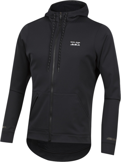 Pearl Izumi Men's Versa Softshell Hoodie Color: Black