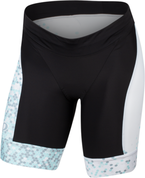 Pearl Izumi Women's ELITE Graphic Tri Short Color: White/Air Hex