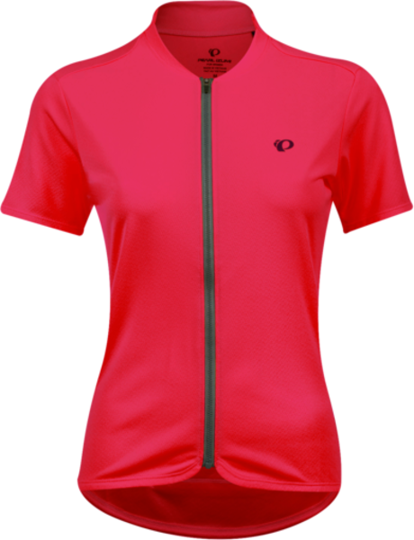 Pearl Izumi Women's Quest Jersey Color: Cerise/Turbulence