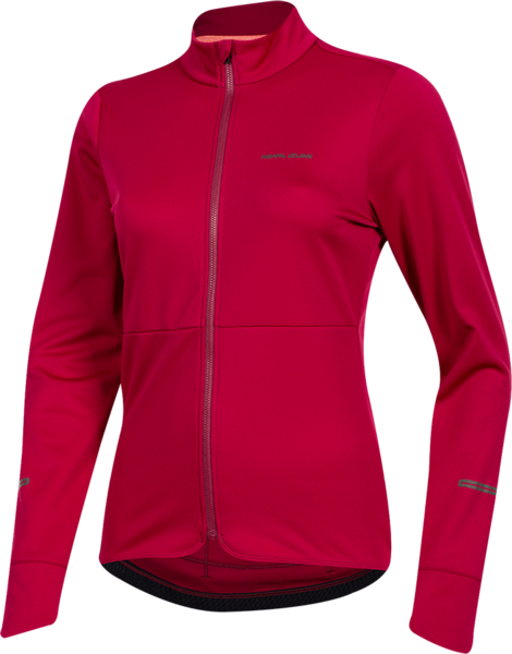 Pearl Izumi Women Quest Thermal Jersey Color: Beet Red