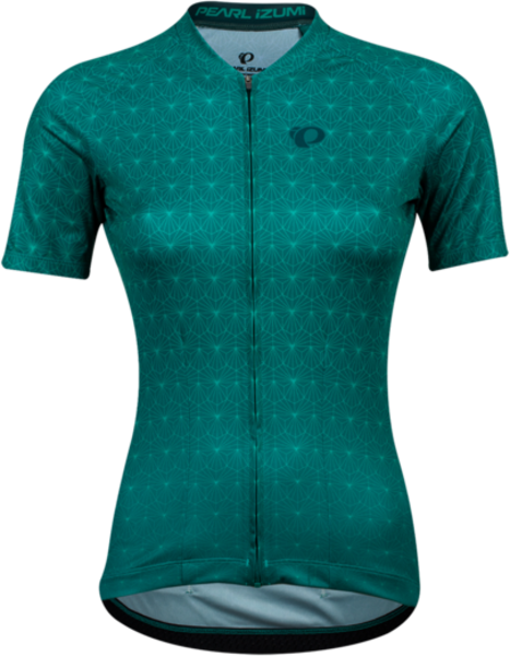 Pearl Izumi Women's Attack Jersey Color: Alpine Green/Malachite Deco