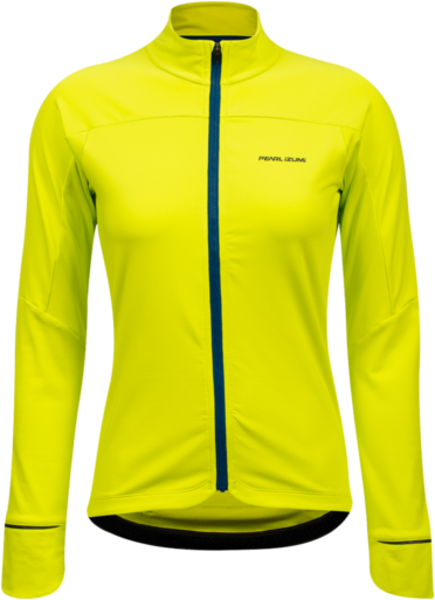 Pearl Izumi Women's Attack Thermal Jersey Color: Bio Lime/Twilight