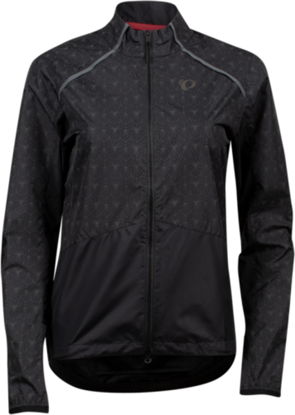 Pearl Izumi Women's Bioviz Barrier Jacket Color: Black/Reflective Deco