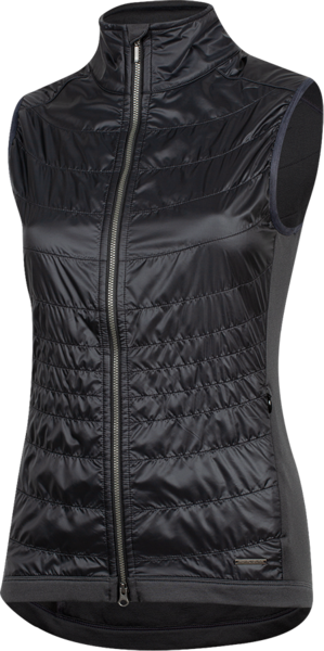 Pearl Izumi Women's BLVD Merino Vest Color: Black/Phantom