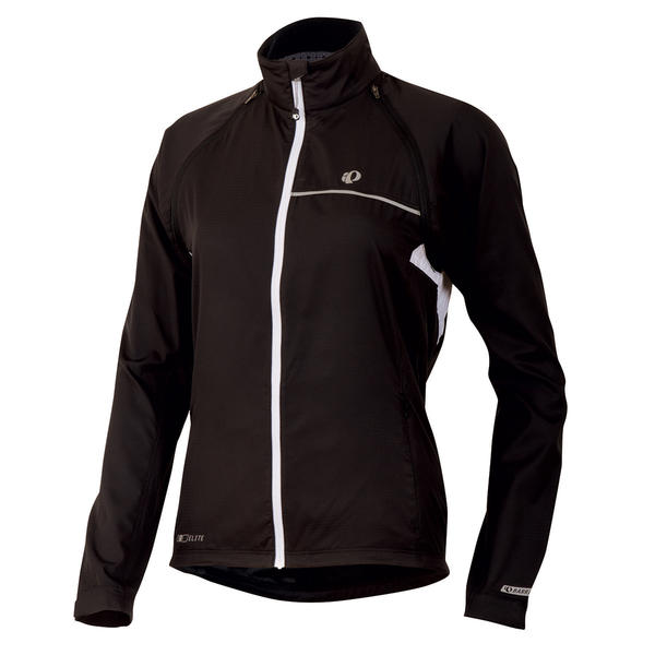 Pearl Izumi Elite Barrier Convertible Jacket - Women's Color: Black