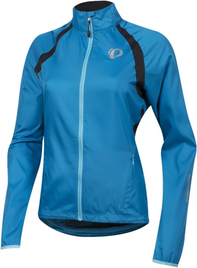 Pearl Izumi Women's ELITE Barrier Jacket Color: Atomic Blue/Black