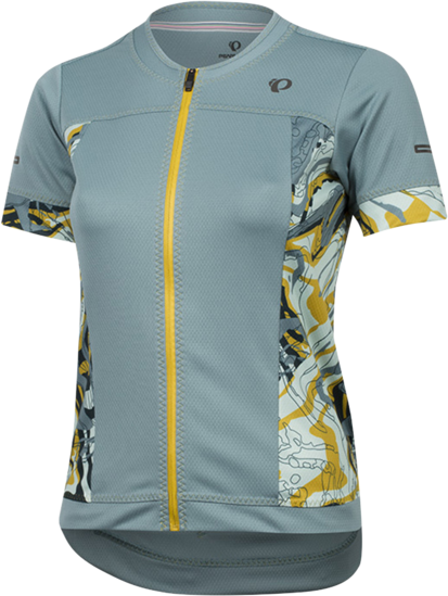 Pearl Izumi Women's ELITE Escape Short Sleeve Jersey Color: Arctic Phyllite