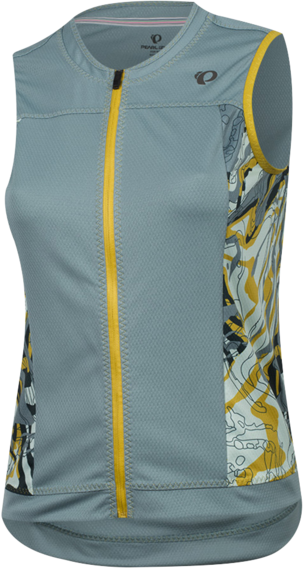 Pearl Izumi Women's ELITE Escape Sleeveless Jersey Color: Arctic Phyllite