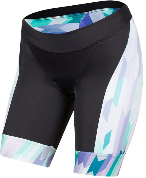 Pearl Izumi Women's ELITE Graphic Tri Shorts Color: Lavender/Breeze Quartz