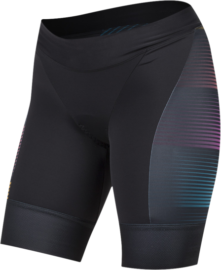 Pearl Izumi Women's ELITE Pursuit Graphic Tri Shorts Color: Diffuse Prism
