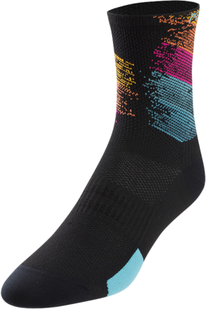 Pearl Izumi Women's ELITE Tall Socks Color: Diffuse Prism