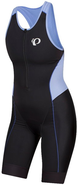 Pearl Izumi Women's ELITE Tri Suit Color: Black Lavender