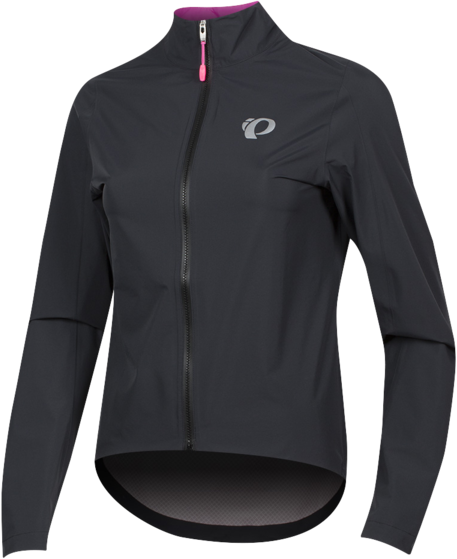 Pearl Izumi Women's ELITE WxB Jacket Color: Black/Screaming Pink