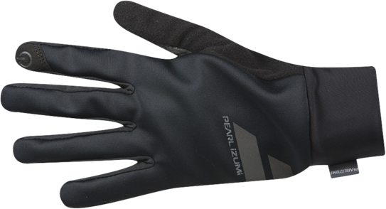 Pearl Izumi Women's Escape Softshell Glove Color: Black/Smoked Pearl