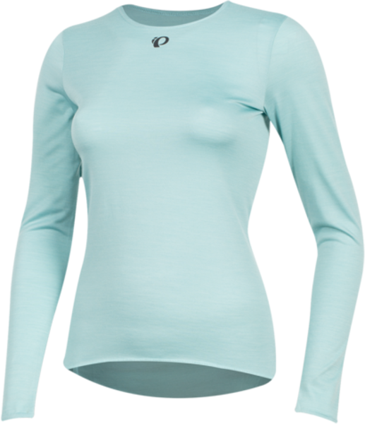 Pearl Izumi Women's Merino Long Sleeve Baselayer Color: Aquifer
