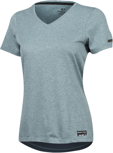 Pearl Izumi Women's Performance T-Shirt Color: Arctic/Midnight Navy