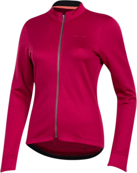 Pearl Izumi Women's PRO Merino Thermal Jersey Color: Beet Red