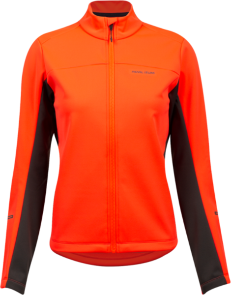 Pearl Izumi Women's Quest AmFIB Jacket Color: Screaming Red/Phantom