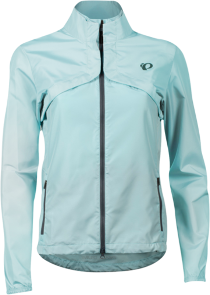 Pearl Izumi Women's Quest Barrier Convertible Jacket Color: Air
