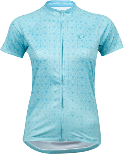 Pearl Izumi Women's Select Escape Short-Sleeve Graphic Jersey Color: Air/Stratus Blue Deco
