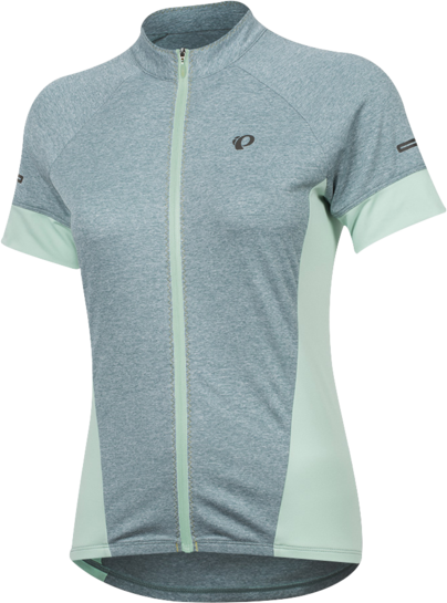 Pearl Izumi Women's SELECT Escape Short Sleeve Jersey Color: Arctic/Mist Green